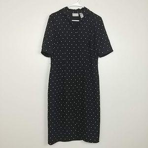 Liz Claiborne Button-Down Shirt Dress SS 10 #3259